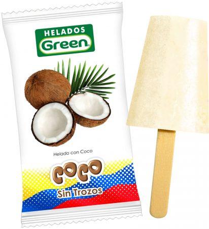 Helado de Coco sin Trozos