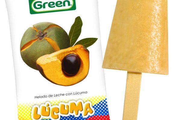 Helado de Lúcuma