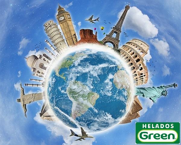 Green Helados por el Mundo